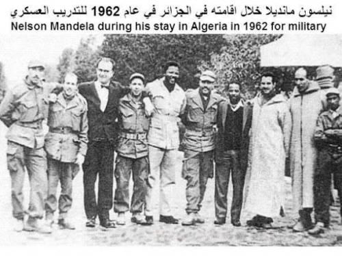 mandela in algeria