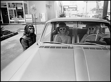 "USA. California. 1967. On and around the set of ""Planet of the Apes."""