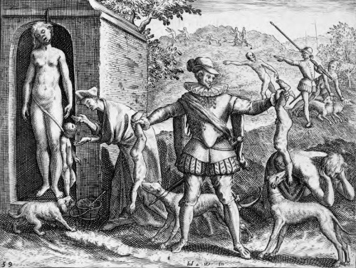 Illustrations_de_Narratio_regionum_Indicarum_per_Hispanos_quosdam_devastattarum_—_Jean_Théodore_de_Bry_—_14